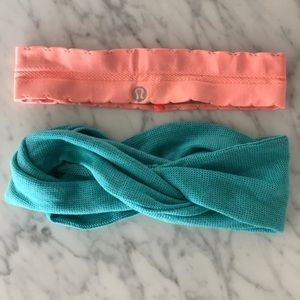 lululemon headbands set of 2